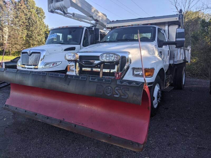 2013 Ford F-650 Super Duty for sale at GREAT DEALS ON WHEELS in Michigan City IN