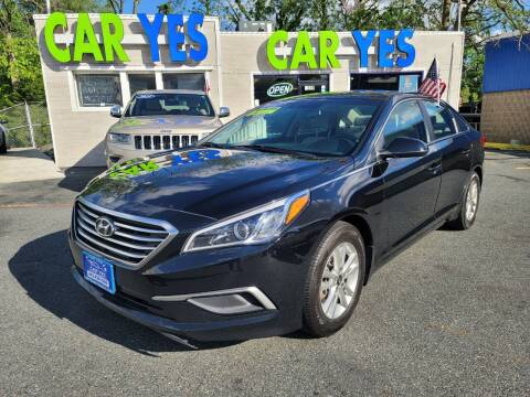 2017 Hyundai Sonata for sale at Car Yes Auto Sales in Baltimore MD