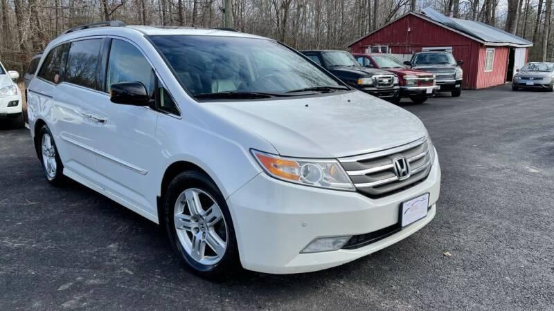 2012 Honda Odyssey for sale at MBL Auto in Fredericksburg VA