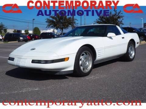 1994 Chevrolet Corvette for sale at Contemporary Auto in Tuscaloosa AL