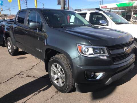 2018 Chevrolet Colorado for sale at New Wave Auto Brokers & Sales in Denver CO