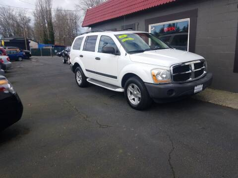 2006 Dodge Durango for sale at Bonney Lake Used Cars in Puyallup WA
