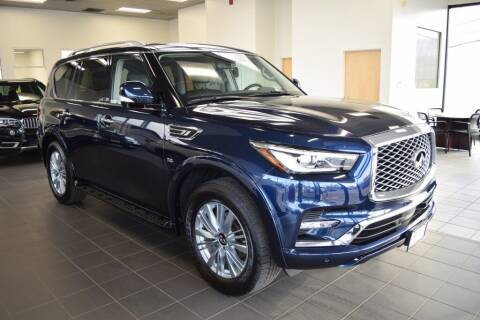 2020 Infiniti QX80 for sale at BMW OF NEWPORT in Middletown RI