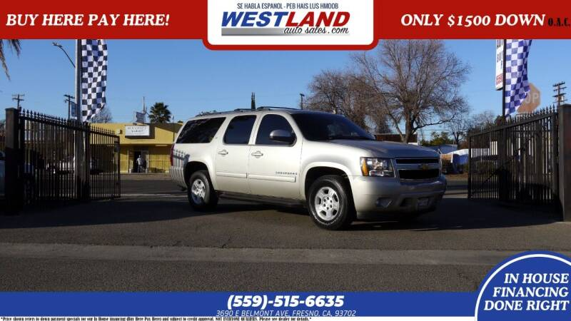 2009 Chevrolet Suburban for sale at Westland Auto Sales on 7th in Fresno CA