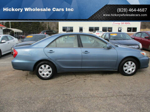 2004 Toyota Camry for sale at Hickory Wholesale Cars Inc in Newton NC