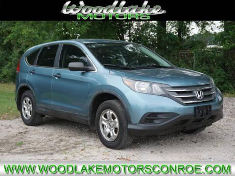2013 Honda CR-V for sale at WOODLAKE MOTORS in Conroe TX