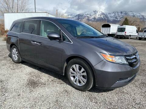 2015 Honda Odyssey for sale at Shamrock Group LLC #1 in Pleasant Grove UT