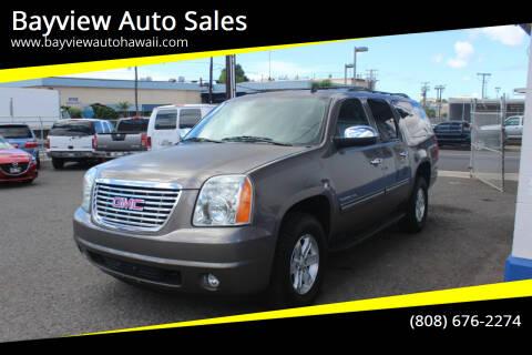 2014 GMC Yukon XL for sale at Bayview Auto Sales in Waipahu HI