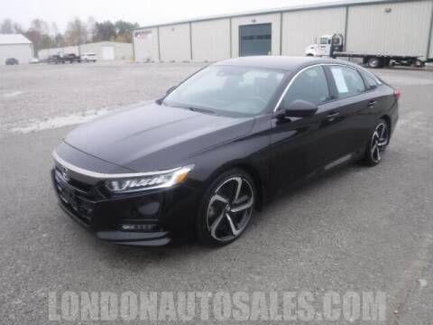 2018 Honda Accord for sale at London Auto Sales LLC in London KY