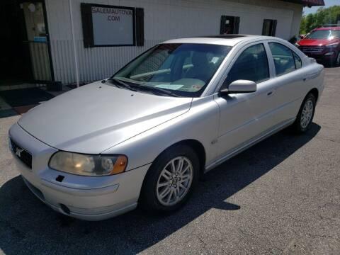 2005 Volvo S60 for sale at Salem Auto Sales in Salem VA
