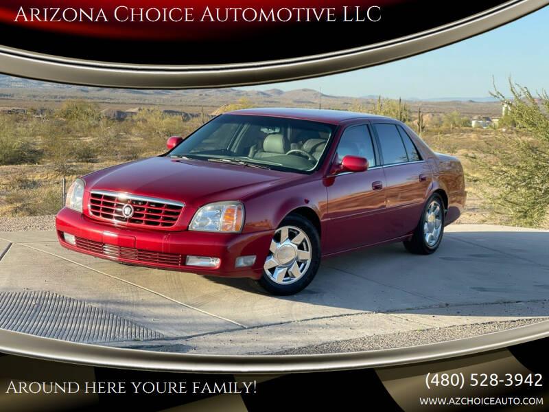 2000 Cadillac DeVille for sale at Arizona Choice Automotive LLC in Mesa AZ