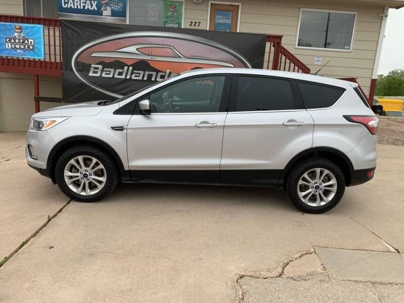 2017 Ford Escape for sale at Badlands Brokers in Rapid City SD