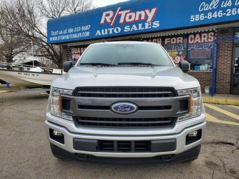 2019 Ford F-150 for sale at R Tony Auto Sales in Clinton Township MI