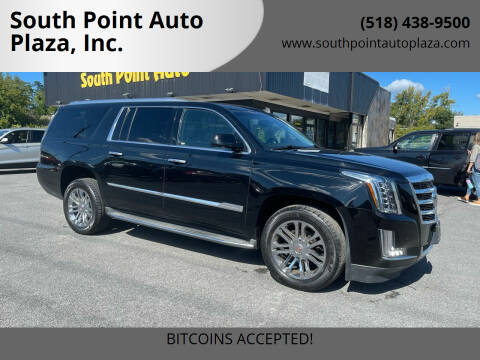 2015 Cadillac Escalade ESV for sale at South Point Auto Plaza, Inc. in Albany NY