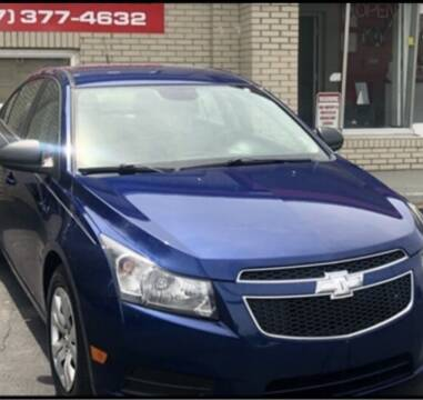 2011 Chevrolet Cruze for sale at Right Place Auto Sales in Indianapolis IN
