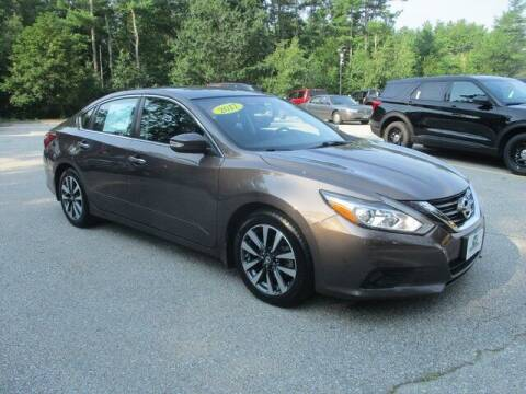 2017 Nissan Altima for sale at MC FARLAND FORD in Exeter NH