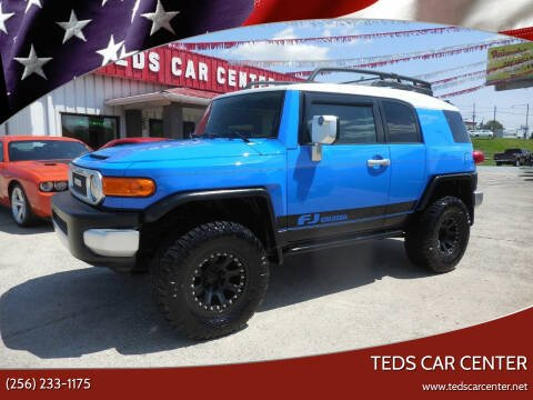 2007 Toyota FJ Cruiser for sale at TEDS CAR CENTER in Athens AL