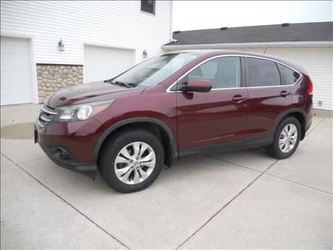 2014 Honda CR-V for sale at OLSON AUTO EXCHANGE LLC in Stoughton WI