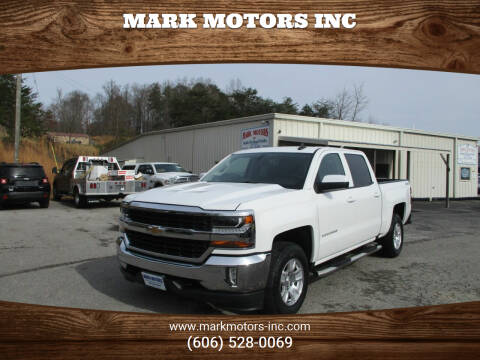 2017 Chevrolet Silverado 1500 for sale at Mark Motors Inc in Gray KY