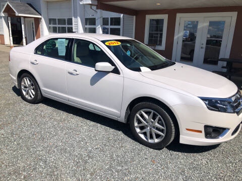 2012 Ford Fusion for sale at M&A Auto in Newport VT