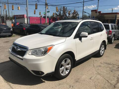 2014 Subaru Forester for sale at SKYLINE AUTO in Detroit MI