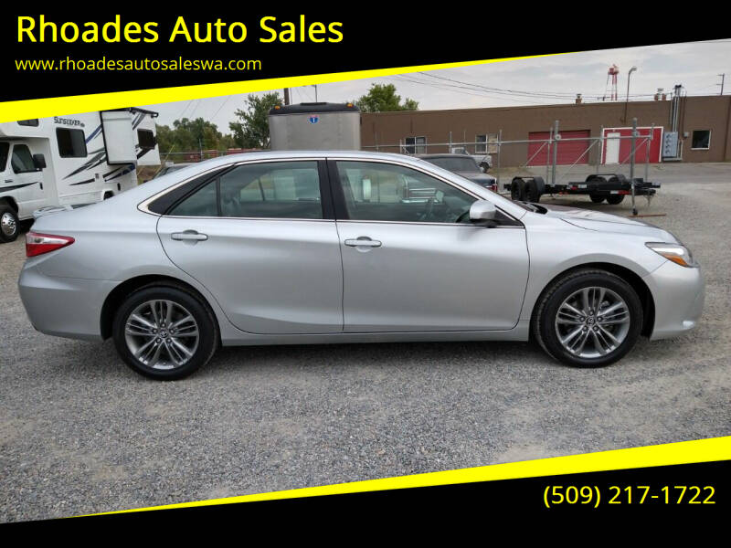 2017 Toyota Camry for sale at Rhoades Auto Sales in Spokane Valley WA
