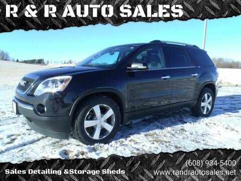 2012 GMC Acadia for sale at R & R AUTO SALES in Juda WI