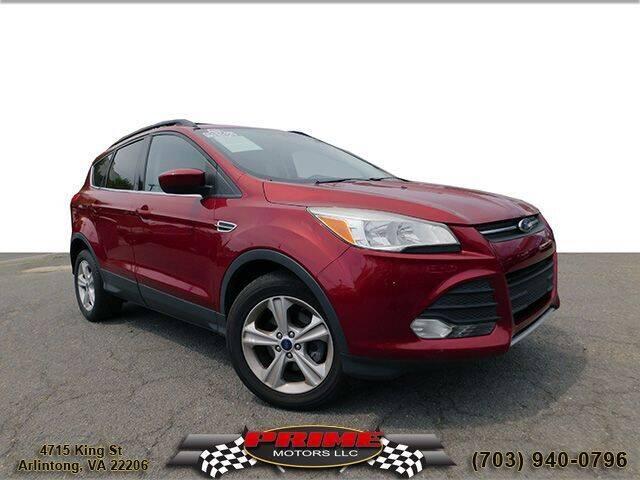 2013 Ford Escape for sale at PRIME MOTORS LLC in Arlington VA