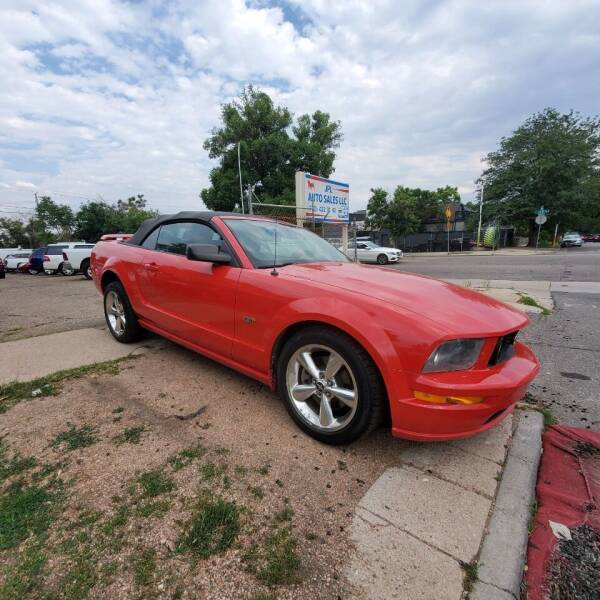 2006 Ford Mustang for sale at JPL Auto Sales LLC in Denver CO