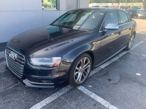 2014 Audi S4 for sale at Castle Used Cars in Jacksonville FL