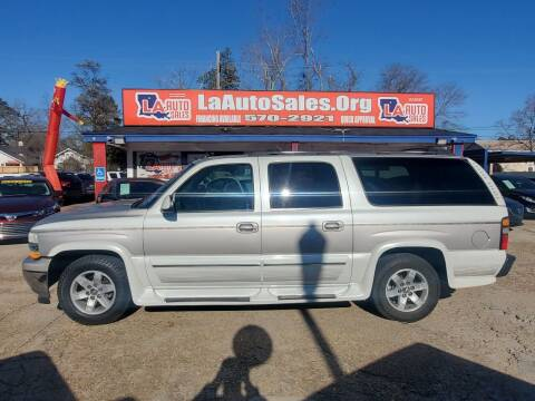 2005 Chevrolet Suburban for sale at LA Auto Sales in Monroe LA