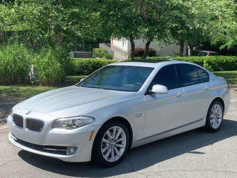 2012 BMW 5 Series for sale at Triangle Motors Inc in Raleigh NC