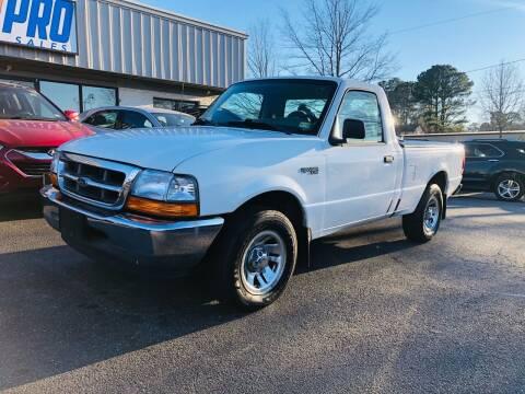 1999 Ford Ranger for sale at Carpro Auto Sales in Chesapeake VA