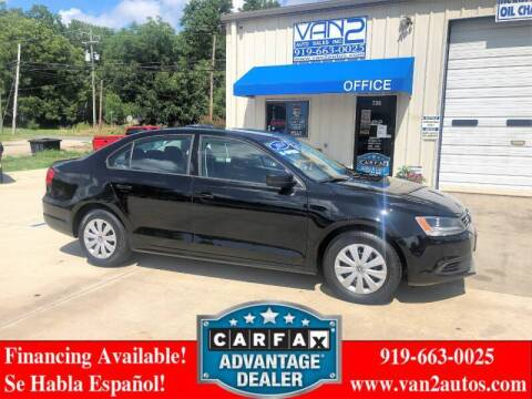 2014 Volkswagen Jetta for sale at Van 2 Auto Sales Inc in Siler City NC