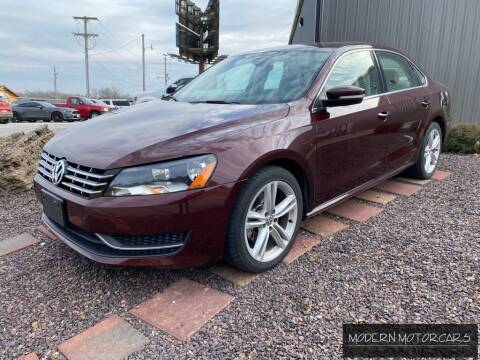 2014 Volkswagen Passat for sale at Modern Motorcars in Nixa MO