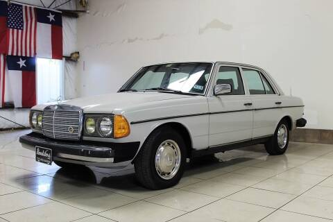 1982 Mercedes-Benz 240-Class for sale at ROADSTERS AUTO in Houston TX
