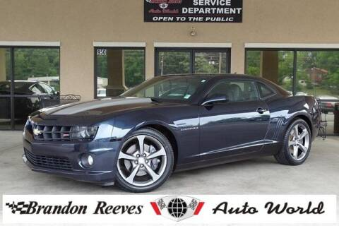 2013 Chevrolet Camaro for sale at Brandon Reeves Auto World in Monroe NC