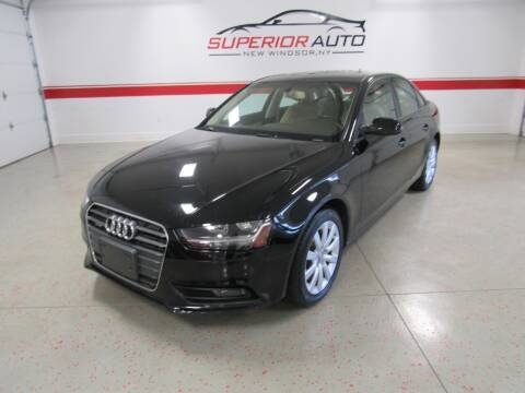 2014 Audi A4 for sale at Superior Auto Sales in New Windsor NY