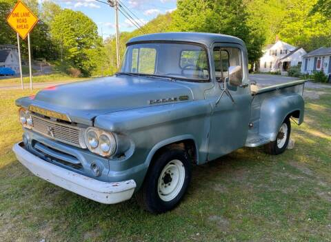 1960 Dodge D250 Pickup for sale at Olney Auto Sales in Springfield VT