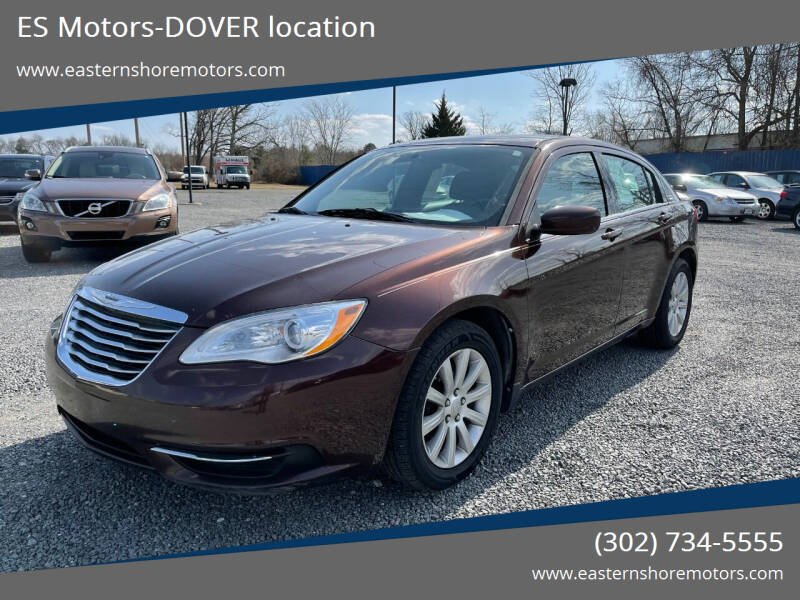 2013 Chrysler 200 for sale at ES Motors-DAGSBORO location - Dover in Dover DE