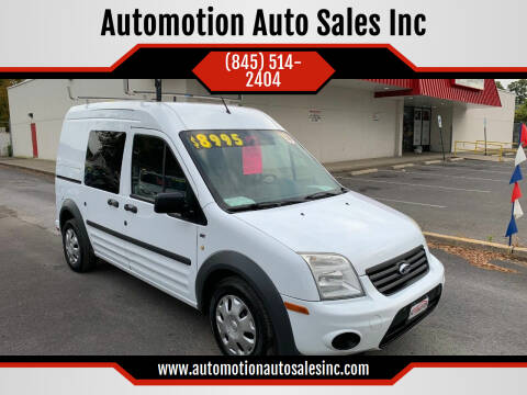 2013 Ford Transit Connect for sale at Automotion Auto Sales Inc in Kingston NY