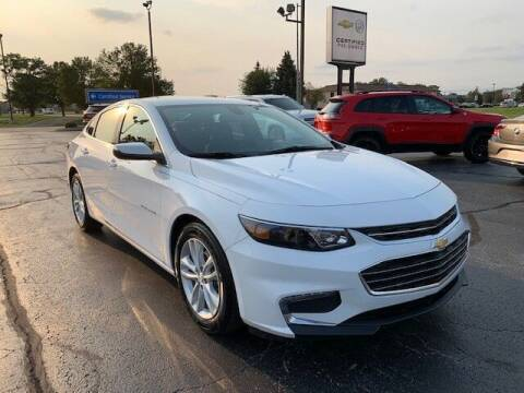 2018 Chevrolet Malibu for sale at Dunn Chevrolet in Oregon OH