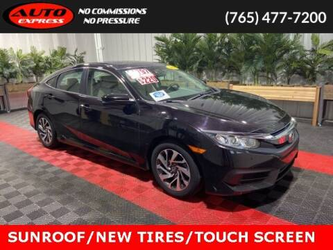2016 Honda Civic for sale at Auto Express in Lafayette IN