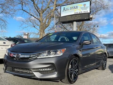 2016 Honda Accord for sale at All Star Auto Sales and Service LLC in Allentown PA