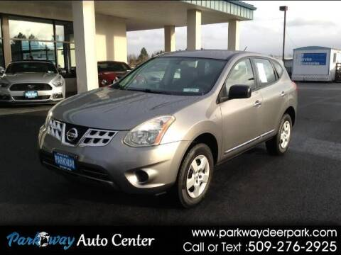 2013 Nissan Rogue for sale at PARKWAY AUTO CENTER AND RV in Deer Park WA