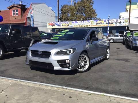 2017 Subaru WRX for sale at LA PLAYITA AUTO SALES INC - 3271 E. Firestone Blvd Lot in South Gate CA