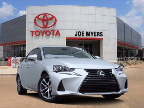 2018 Lexus IS 300 for sale at Joe Myers Toyota PreOwned in Houston TX