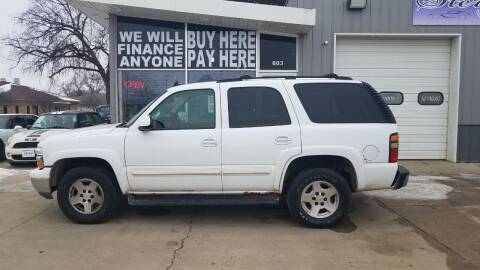 2006 Chevrolet Tahoe for sale at STERLING MOTORS in Watertown SD