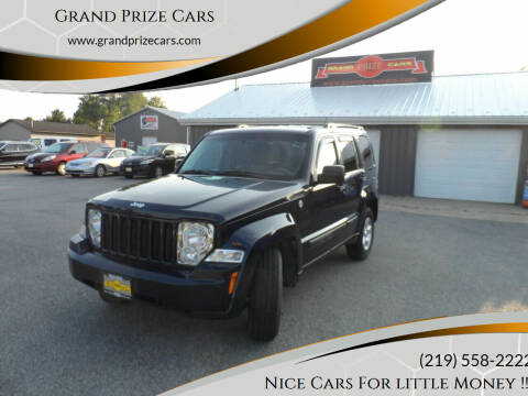 2012 Jeep Liberty for sale at Grand Prize Cars in Cedar Lake IN