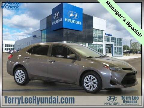 2017 Toyota Corolla for sale at Terry Lee Hyundai in Noblesville IN